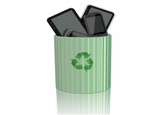 recycling iPhones