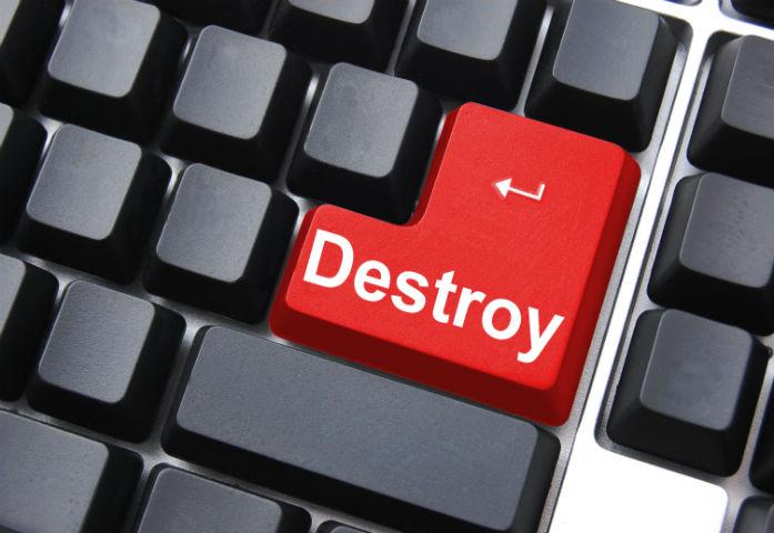 Proper Data Destruction